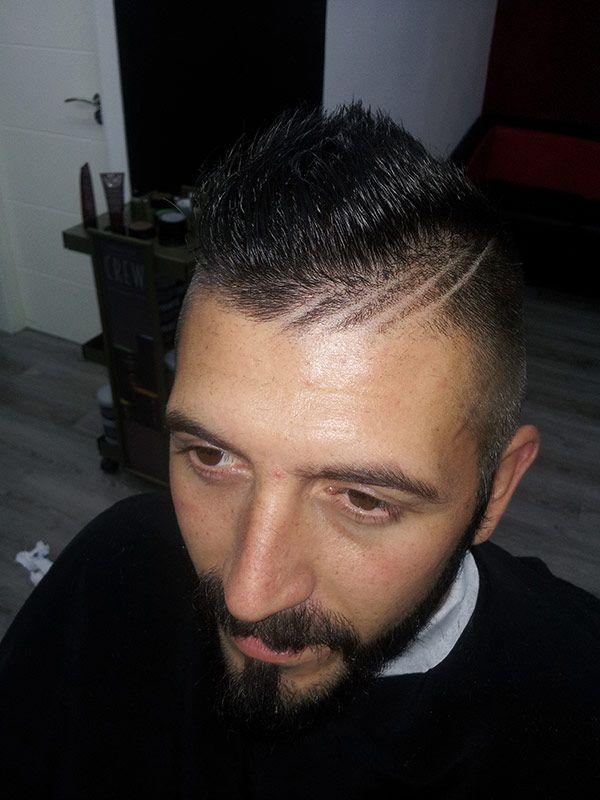 Corte de pelo para caballero en Fuenlabrada Diego El Barbero